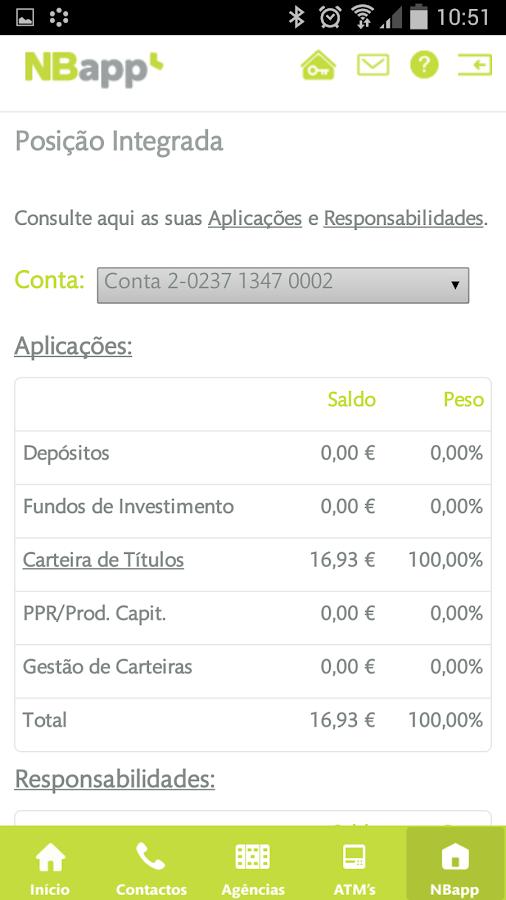NBapp (smartphone) - screenshot