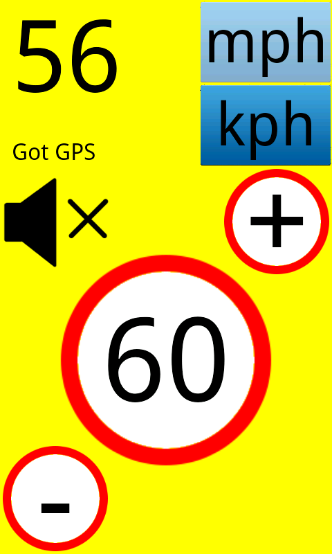 Speed Warning- screenshot