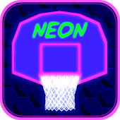 Neon Basketball - Arcade Game