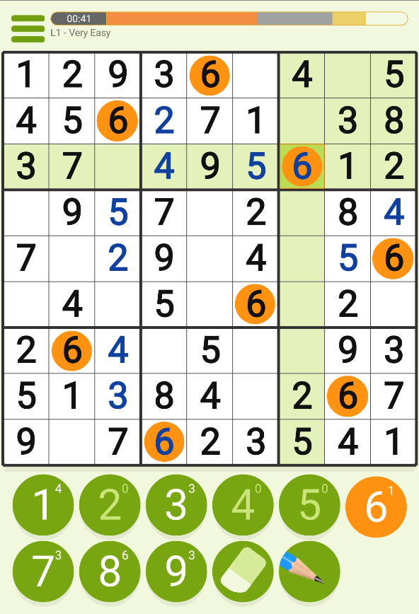 Sudoku: Classic and Arcade- screenshot