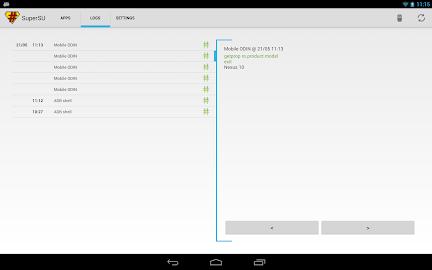 SuperSU Pro Screenshot 3