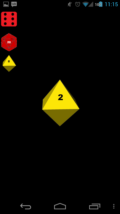 Simple Dice - screenshot