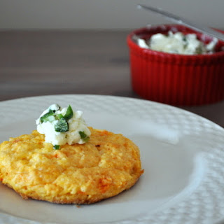 Sweet Potato Biscuits With Jalapeño Butter.