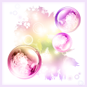 Bubble Garden Live Wallpaper