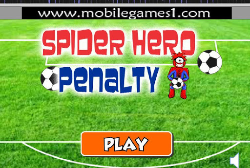 Spider Hero Penalty Game