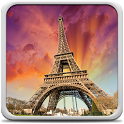 Sunny Paris Live Wallpaper icon