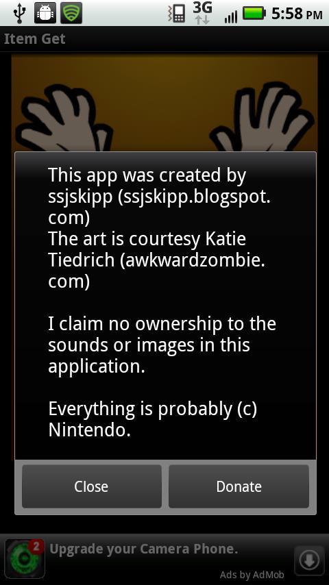 Item Get- screenshot