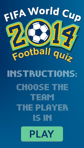 World Cup 2014 Sport Quiz