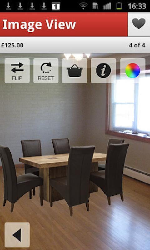Harveys Furniture viewer - screenshot