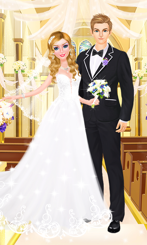 Wedding Day SPA! Bride & Groom- screenshot