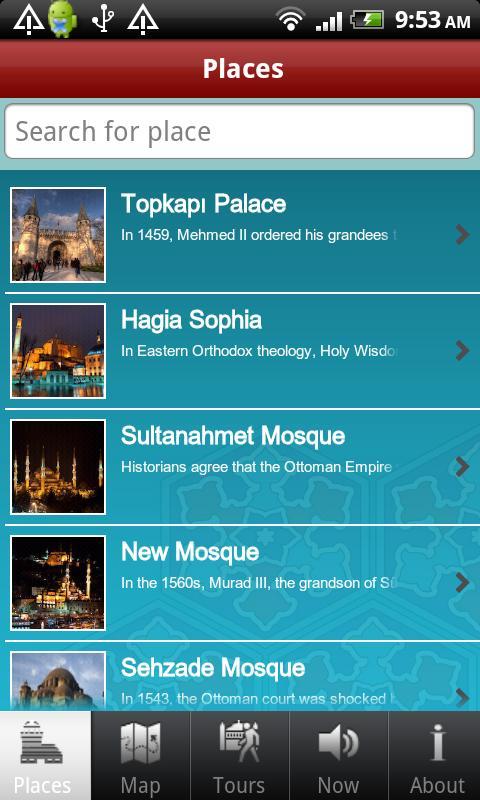 Audio Guide Istanbul- ekran görüntüsü