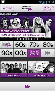 Absolute Classic Rock - screenshot thumbnail
