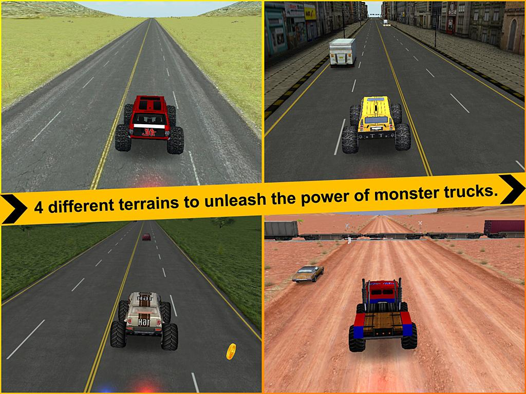 Crazy Monster Truck - Escape - screenshot