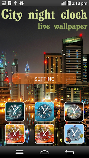 City Night Clock LPW
