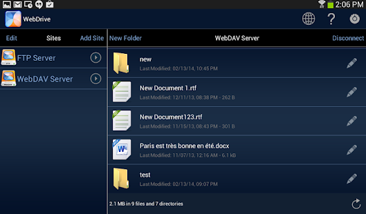 WebDrive, File Transfer Client Screenshot 10