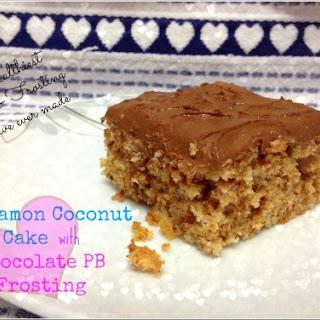 Paleo Cinnamon Coconut Cake (aka the healthiest cake ever).