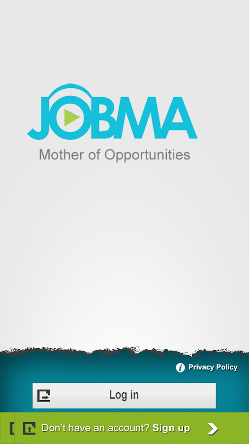 Jobma- screenshot