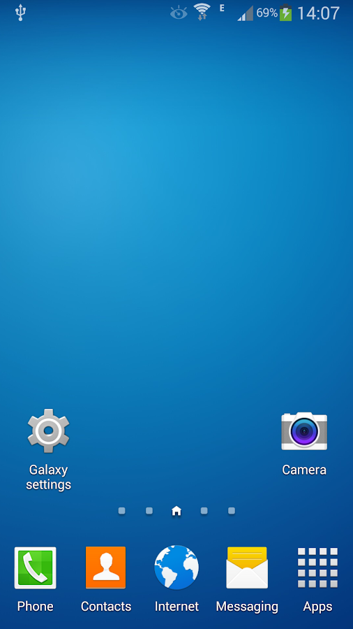 Galaxy Launcher (TouchWiz) - screenshot