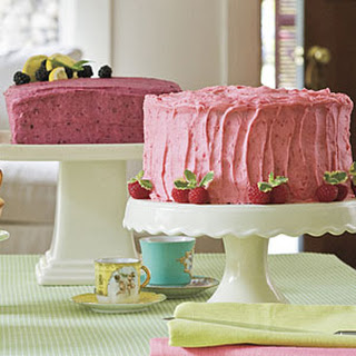 Blackberry Buttercream Frosting.