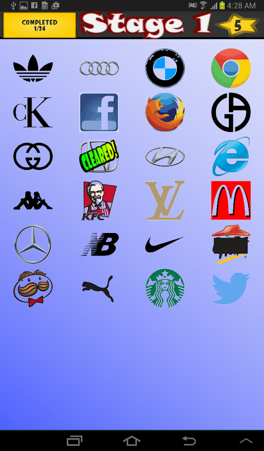 World Logo Quiz- screenshot