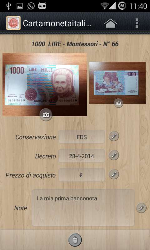 Cartamoneta Italiana-Banconote- screenshot