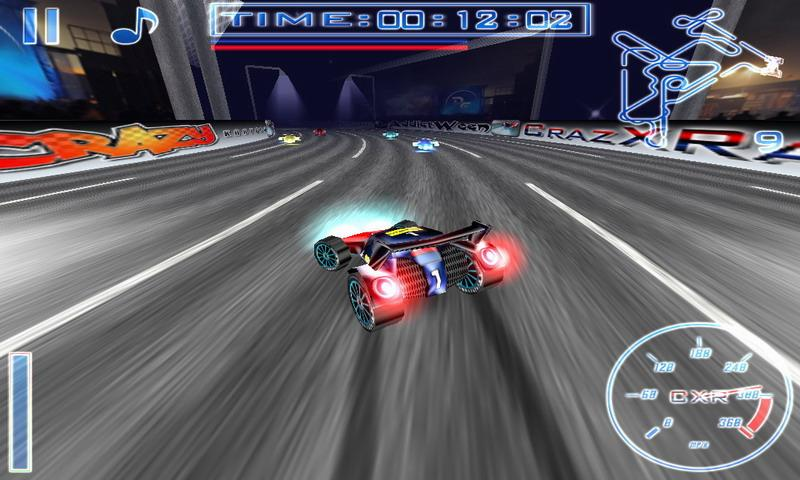 CrazXRacing Free- screenshot