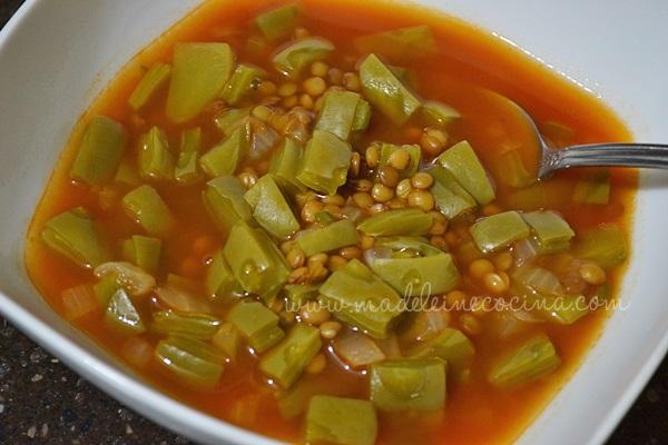 Lentil Soup with Nopal Recipe