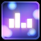 音樂可視化的動態壁紙 icon