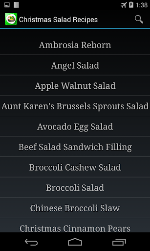 Salad Recipes App