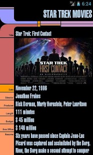 Star Trek Movies- screenshot thumbnail