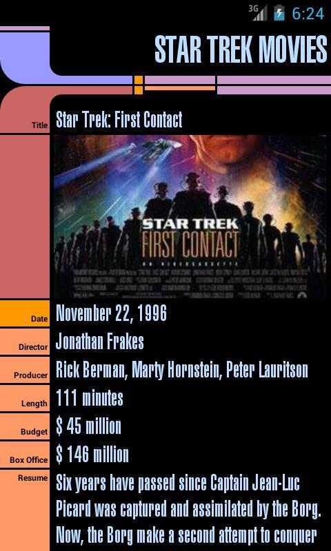 Star Trek Movies- screenshot