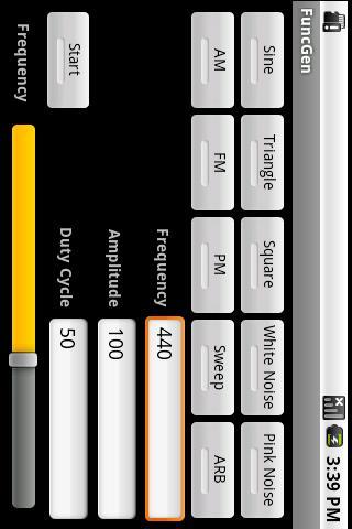 FuncGen Signal Generator APK 1 0 0 Download - Free Tools APK