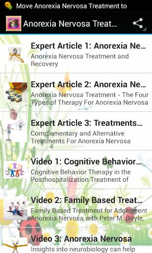 Anorexia Nervosa Treatment