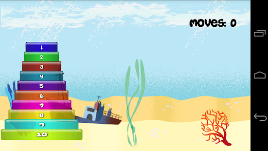 Hanoi Towers for Kids - screenshot thumbnail