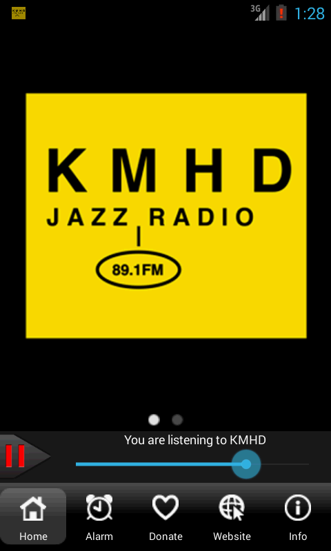 KMHD Jazz Radio- screenshot