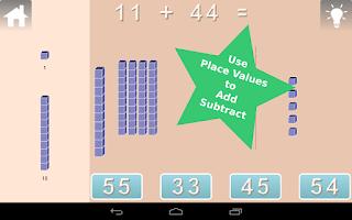 Screenshot of First Grade Math Lite