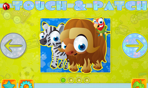 Touch and Patch Puzzle