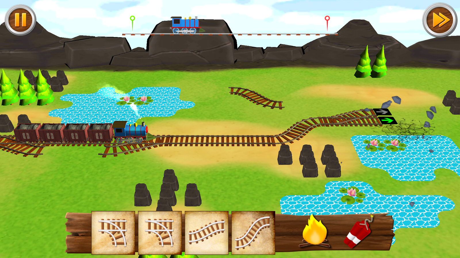Rail Roads- screenshot