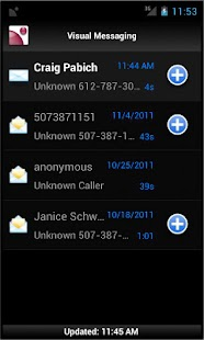 CCI Visual Voice Mail- screenshot thumbnail