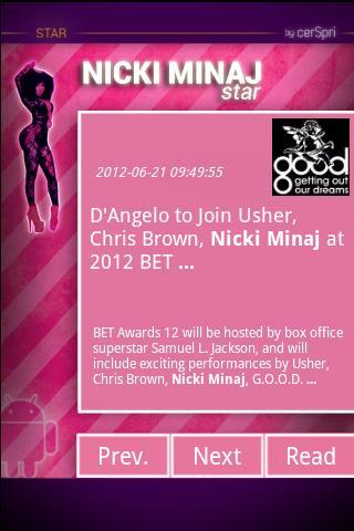 Nicki Minaj - screenshot