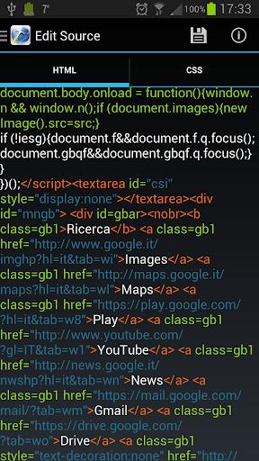 HTML Source Dev