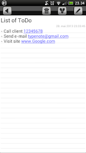 TypeNote - note / folder - screenshot thumbnail