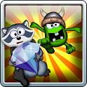 Dig And Run Raccoon! Free icon