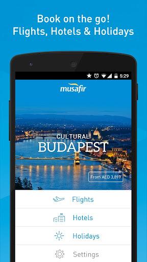 Musafir – Flights and Hotels