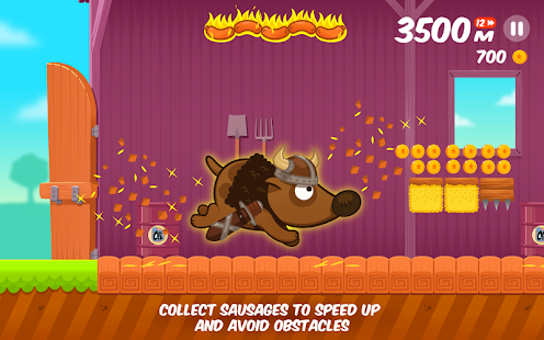 Space Dog Run - Endless Runner- screenshot thumbnail