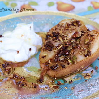 Mini Roasted Pear Crumbles