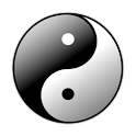 Yin Yang Clock Widget icon