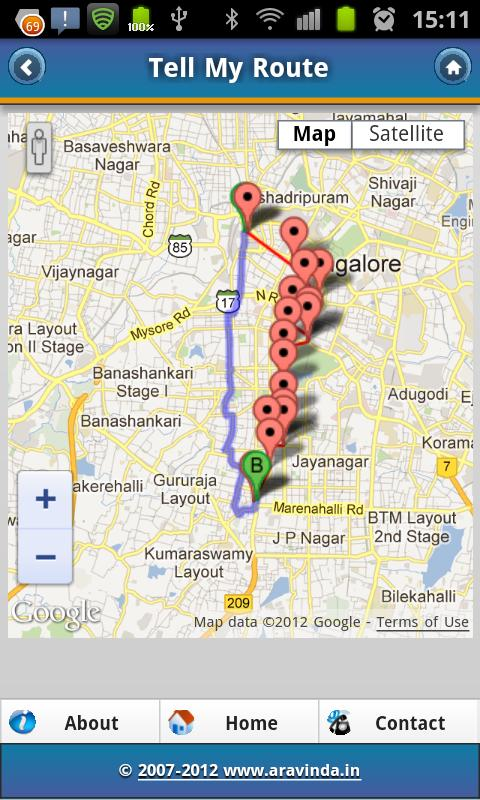 Tell My Route-CityTransitGuide- screenshot
