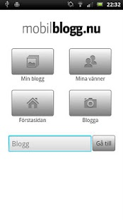 Mobilblogg.net for Android - screenshot thumbnail