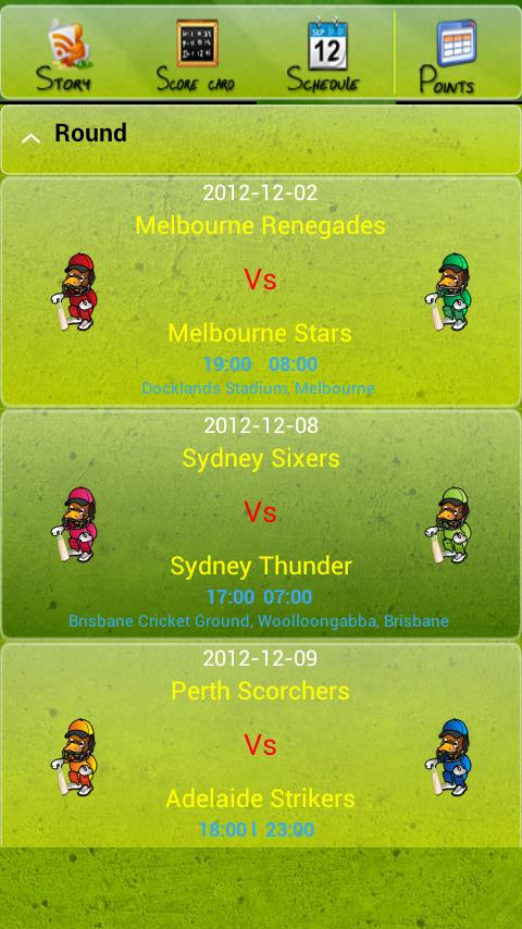 Big Bash Droid Live - screenshot